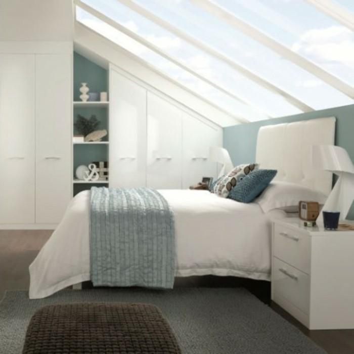Einbauschrank-für-Dachschräge-freien Raum-optimal-ausnutzen-Einrichtungsideen-Schlafzimmer4