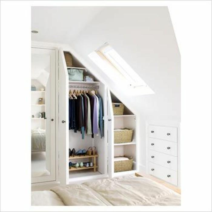 einbauschrank f r dachschr ge freien raum optimal ausnutzen. Black Bedroom Furniture Sets. Home Design Ideas