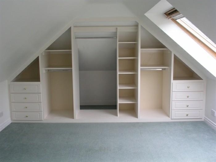 Einbauschrank-für-Dachschräge-freien Raum-optimal-ausnutzen-Einrichtungsideen-Schrank13