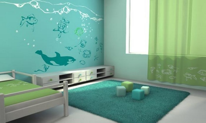 Eine-Kinderzimmer-gestalten-außergewöhnliche-Entscheidung