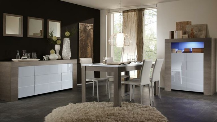 Esszimmermöbel modern  100 Esszimmer Ideen für moderne Gestaltung - Archzine.net