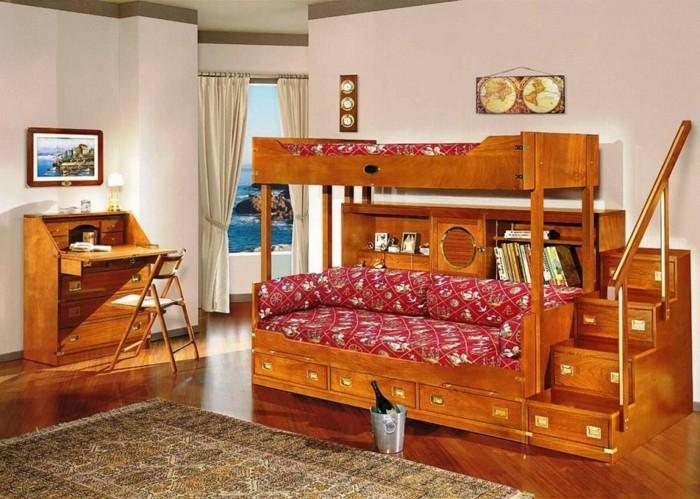 Etagenbett Teenager : Jugendzimmer mit hochbett raumideen für teenagers archzine