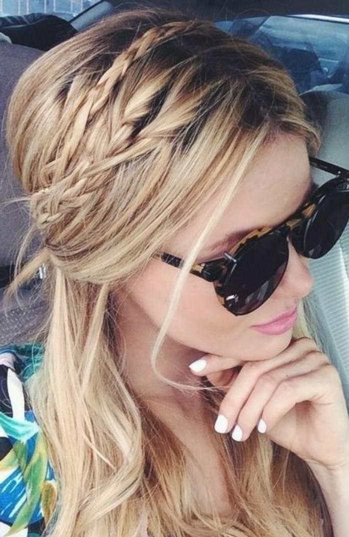Flechtfrisuren-ganz-schnell-machen-für-blondes-Haar