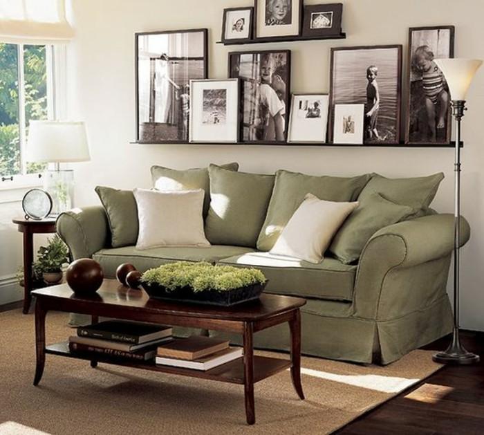 How Big Is A Couch: 55 Ausgefallene Bilderwand Und Fotowand Ideen