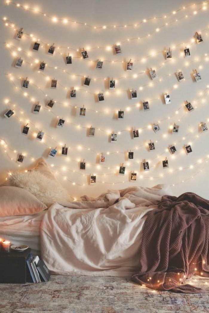 deko ideen schlafzimmer wand: raumfarbe hellblau wand und bettw, Deko ideen