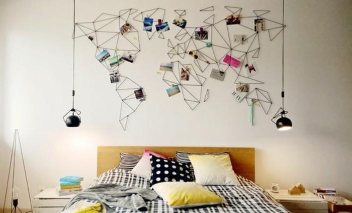 55 ausgefallene bilderwand und fotowand ideen - Deco originele muur ...