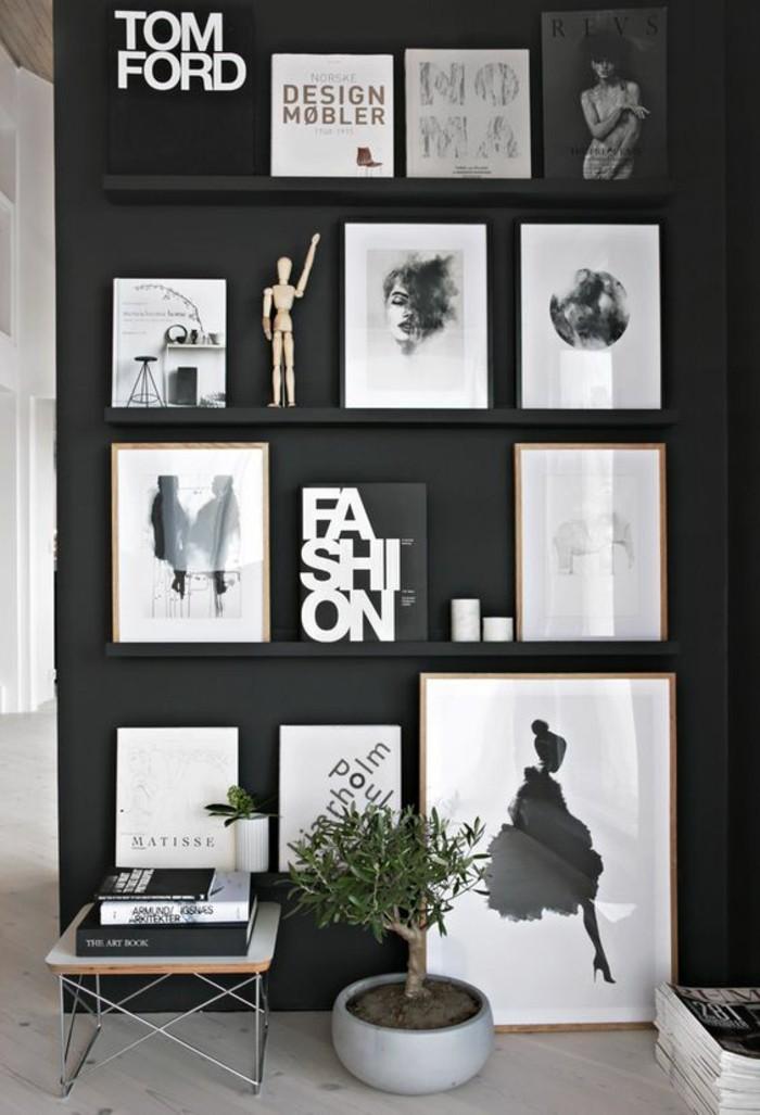 55 ausgefallene bilderwand und fotowand ideen - Pinterest fotowand ...
