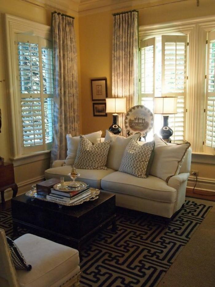 Fenstergestaltung Wohnzimmer mit gut design für ihr haus ideen