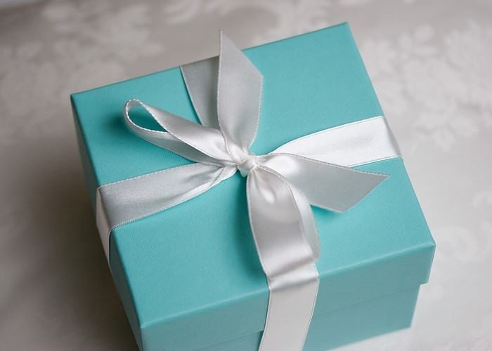 Geschenk-einpacken-Eine-verblüffende-Dekoration
