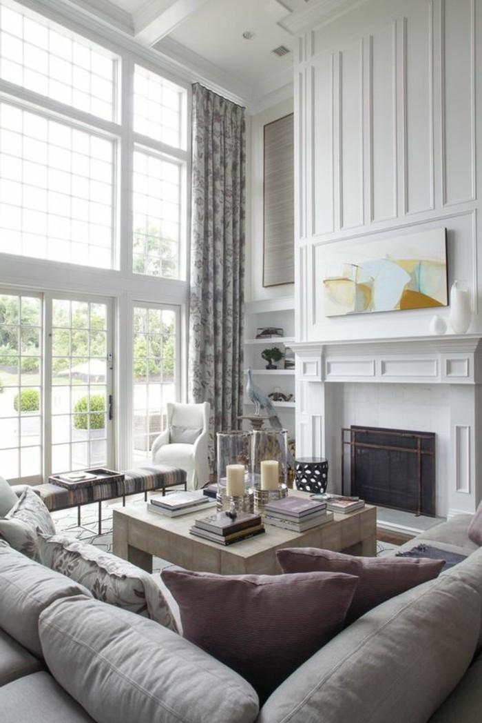 Fenstergestaltung Wohnzimmer war genial ideen für ihr wohnideen