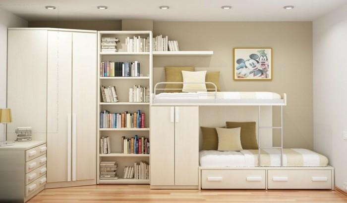 Jugendzimmer mit hochbett 90 raumideen f r teenagers for Jugendzimmer modern einrichten
