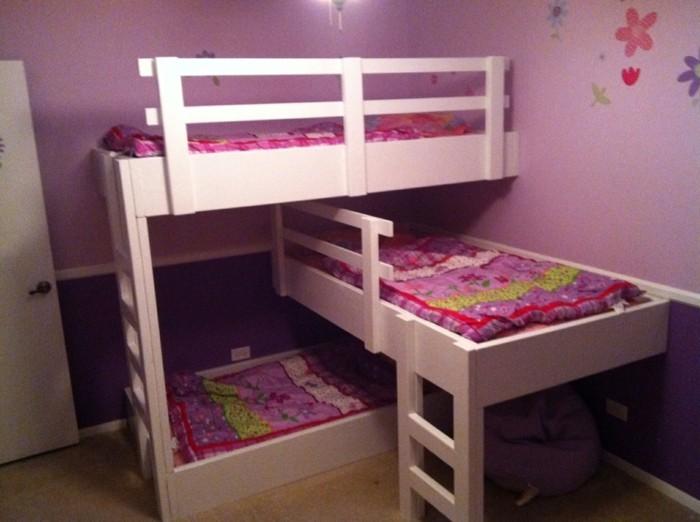 Hochbetten Für Mädchen Für Drei Schwester