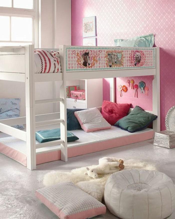 Hochbetten-für-Mädchen-mit-Bildern