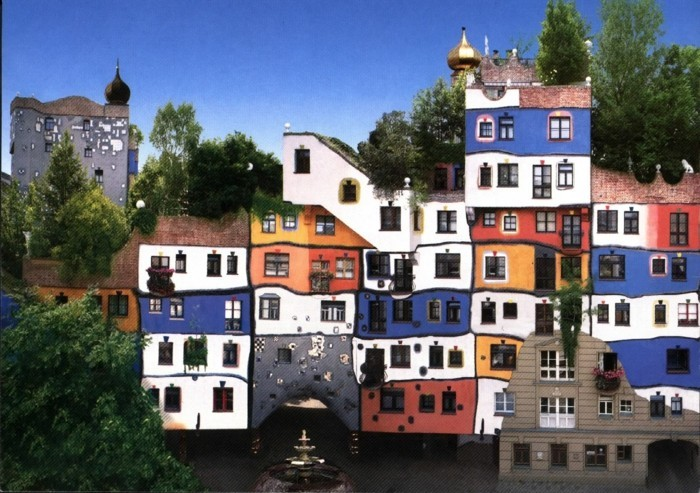 Hundertwasser-Haus-Österreich-Wien-Hunderwasserhaus-Bunt1