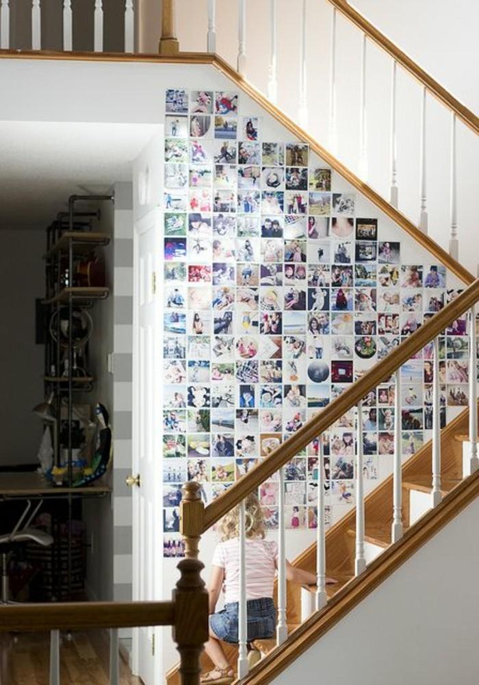Ideen-Fotowand-im-treppen-raum-für-die-kleine-kinder