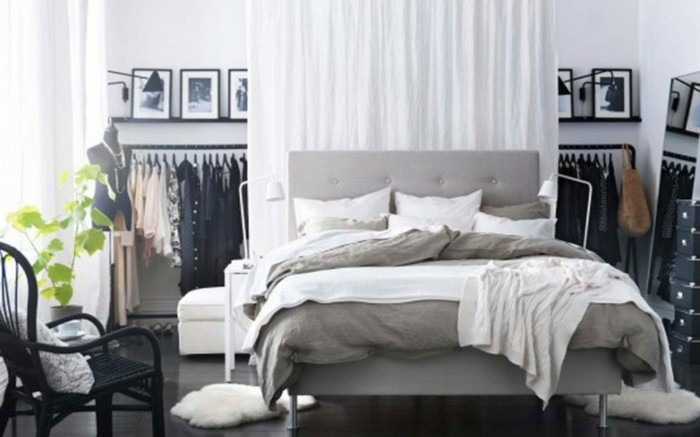 50 beruhigende ideen f r schlafzimmer wandgestaltung. Black Bedroom Furniture Sets. Home Design Ideas