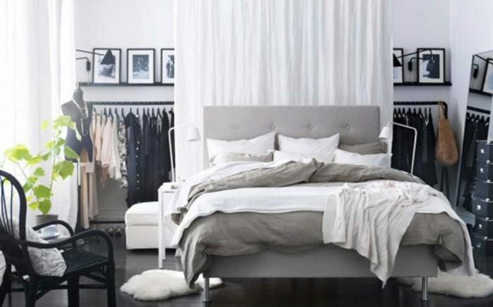 Ideen-für-Schlafzimmer-mit-Vorhängen