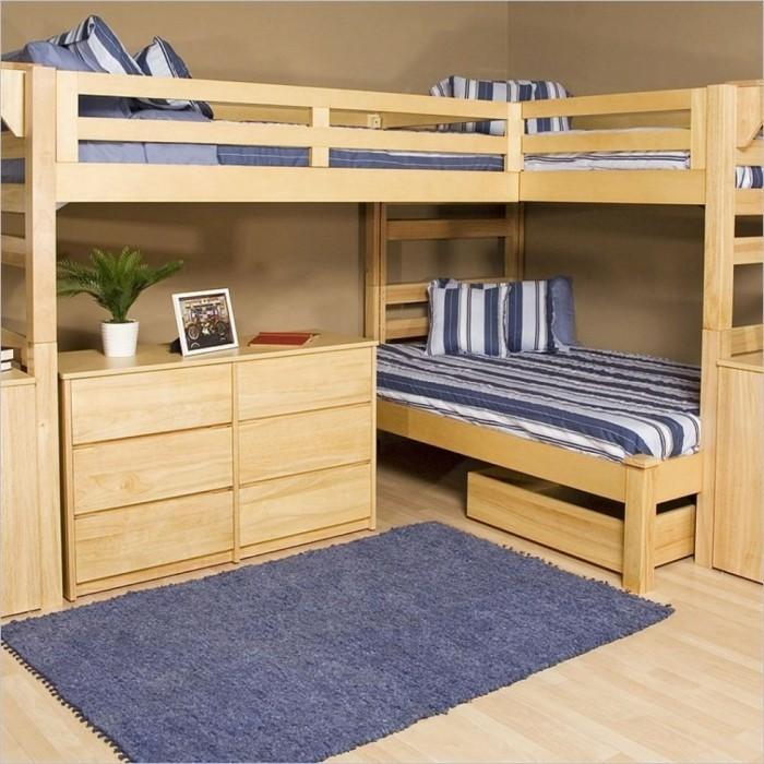 Tier Triple Bunk Bed