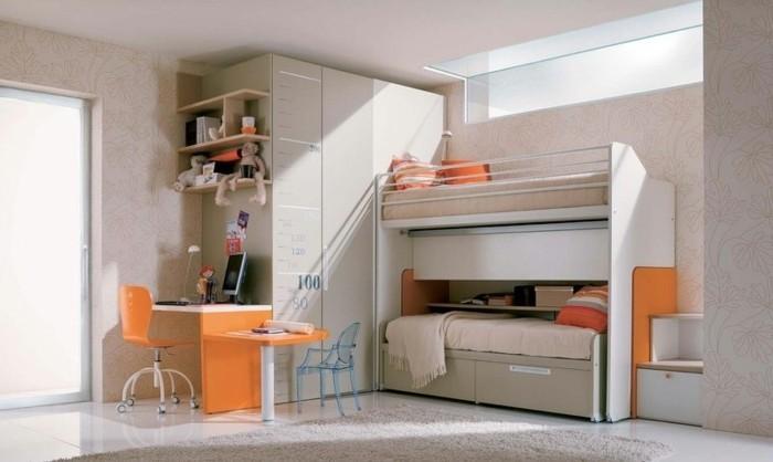 Jugendzimmer-Ideen-mit-einer-versteckter-Treppe