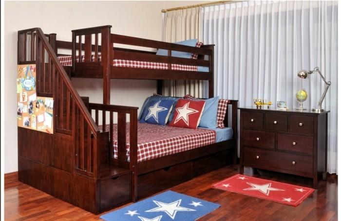 Bettwasche Fur Kinderzimmer ~ Jugendzimmer mit hochbett: 90 raumideen für teenagers! archzine.net