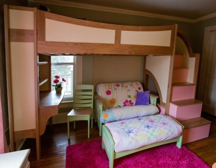 Jugendzimmer mit Hochbett: 90 Raumideen für Teenagers!