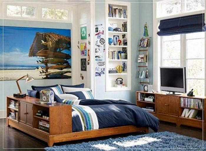 Jugendzimmer-gestalten-Eine-außergewöhnliche-Gestaltung