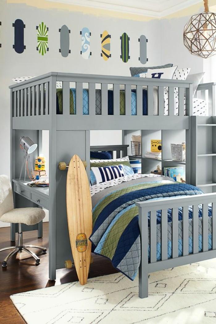 Jugendzimmer-mit-Hochbett-für-coole-Jugendlichen