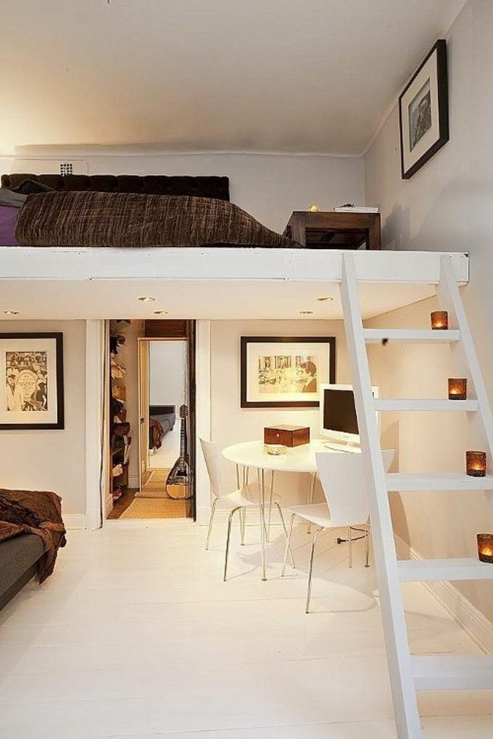 Jugendzimmer-mit-Hochbett-wie-ein-zusätzlichen-Geschoss