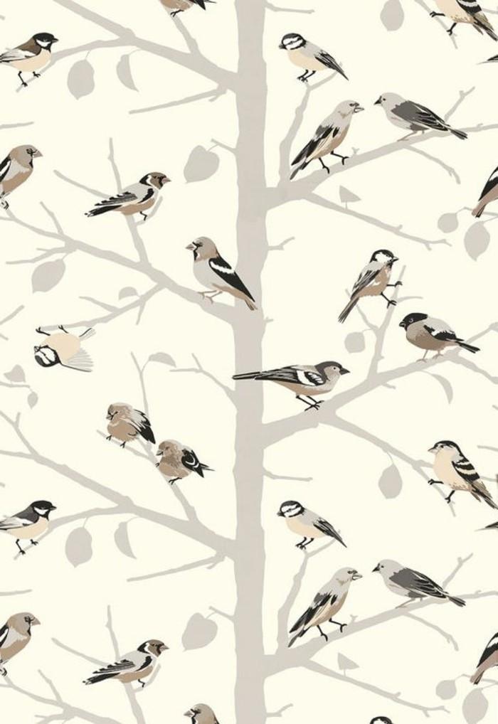 Kinderzimmer-Tapete-mit-kleinen-Vögeln