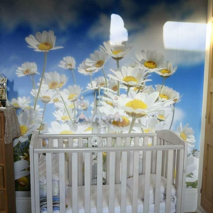 Kinderzimmer Tapeten Ideen Mit Blumen