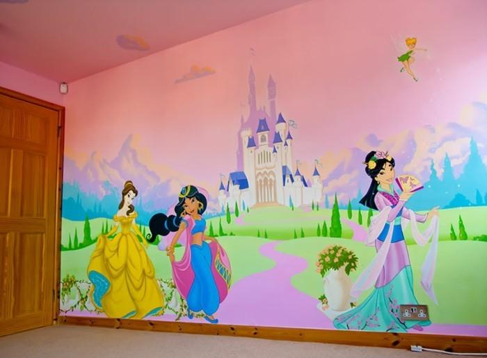 Tapeten f r kinderzimmer ideen von den kleinen inspiriert for Zimmer tapezieren