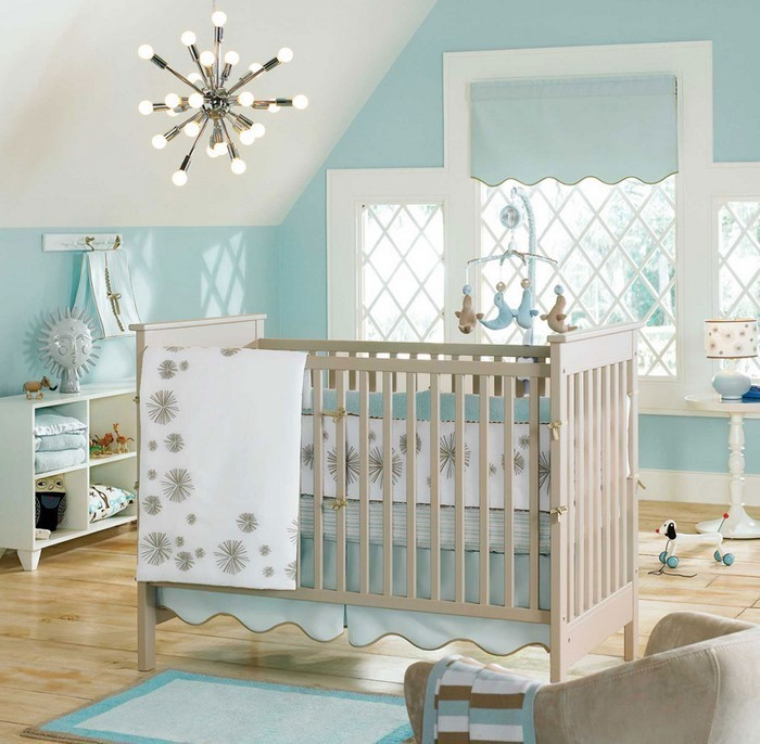 Kinderzimmer gestalten erschwingliche kinderzimmer deko ideen - Kinderzimmergestaltung baby ...