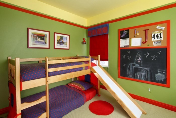 kinderzimmer gestalten: kinderzimmer ideen für jungs, Moderne deko