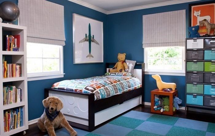 Moderne dekoration jugendzimmer einrichten star wars - Habitaciones infantiles azules ...