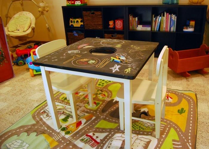 Kinderzimmer gestalten erschwingliche kinderzimmer deko ideen for Kinderzimmer tisch