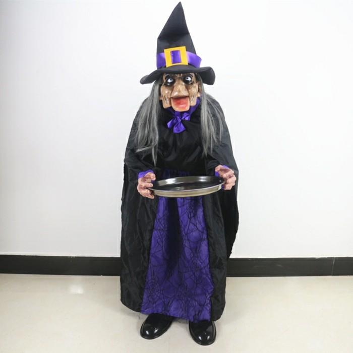 Lustige-Geschenkideen-eine-Hexe-mit-Platte