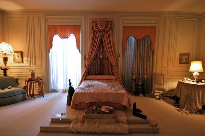 Luxusvilla-La-Pausa-von-Coco-Chanel-Interior-Design-Schlafzimmer-von-Chanel