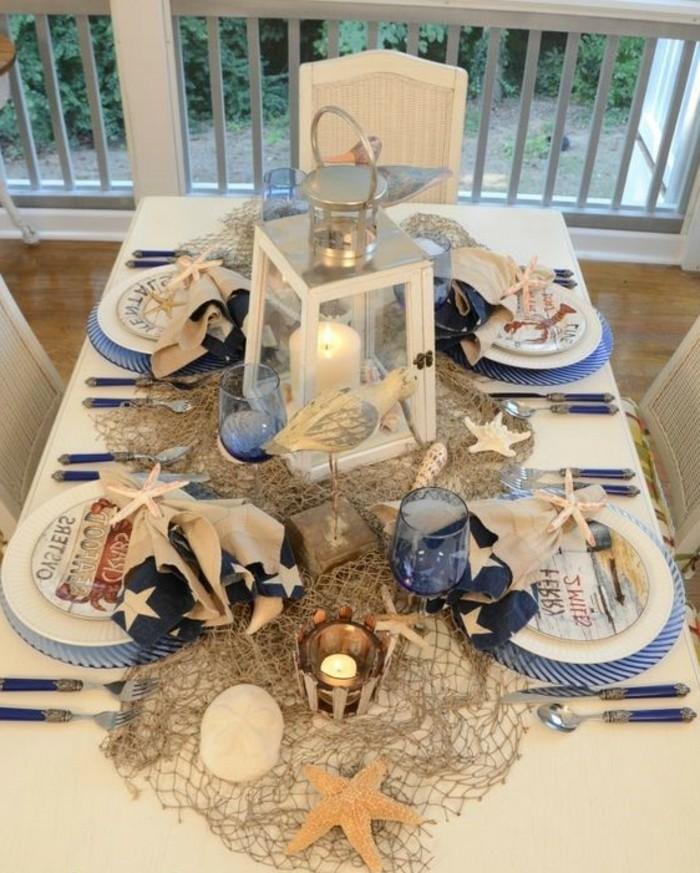 Maritime-Tischdeko-für-vier-Esser
