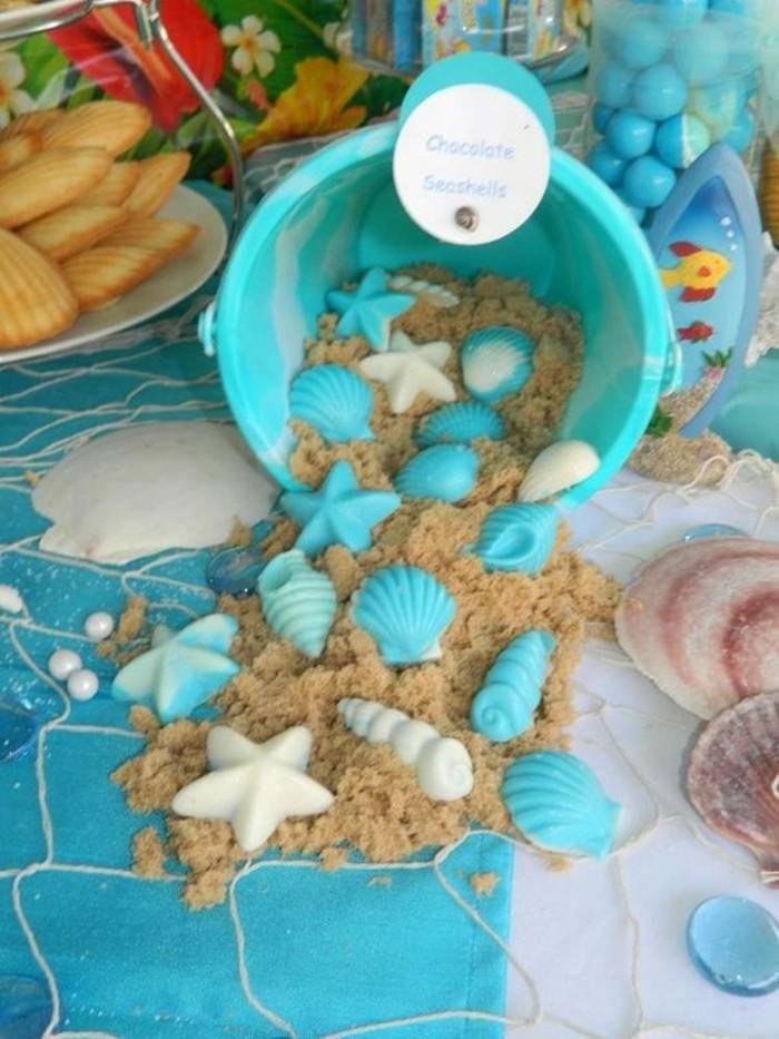 Maritime-Tischdeko-mit-künstlichem-Sand