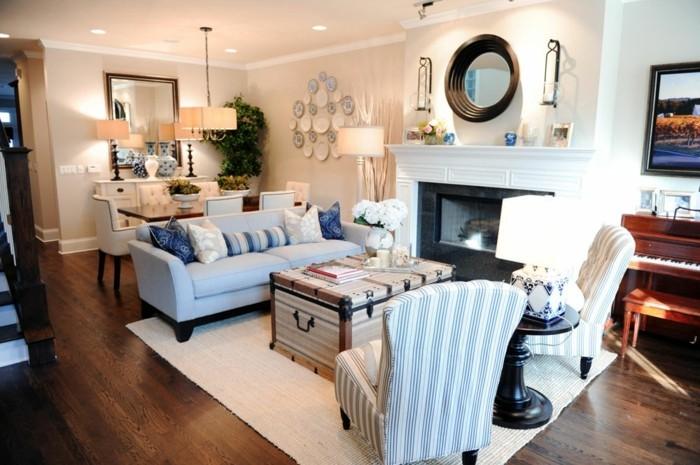 tischdeko für wohnzimmer:alltägliche maritime Tischdeko für jede Zimmer