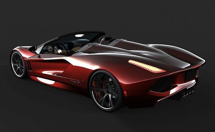 Mobile-Neuwagen-transtar-racing-dagger-ein-Traum-in-rot