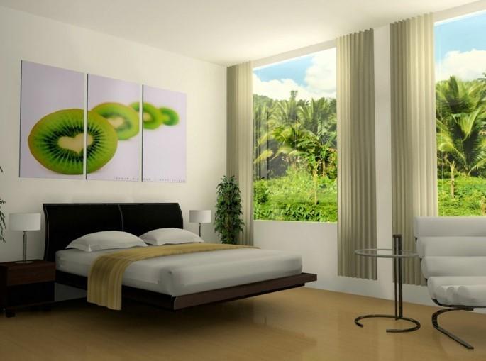 50 Beruhigende Ideen Für Schlafzimmer Wandgestaltung | Schlafzimmer ...
