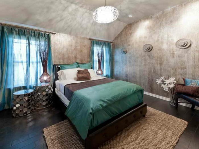50 beruhigende ideen f252r schlafzimmer wandgestaltung