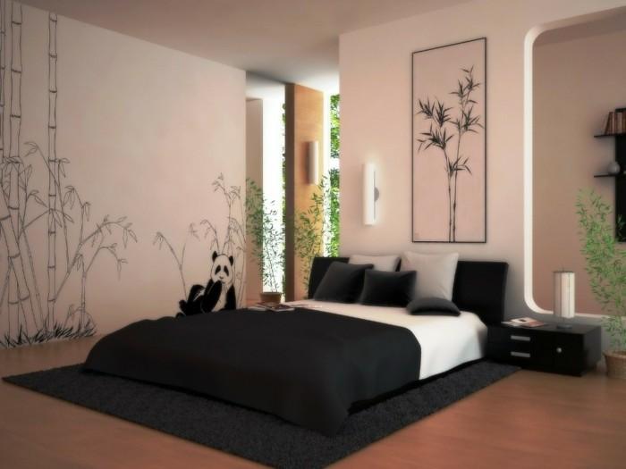 Schlafzimmer Farben Vorschläge : Schlafzimmer-Farben-mit-einem-Bild