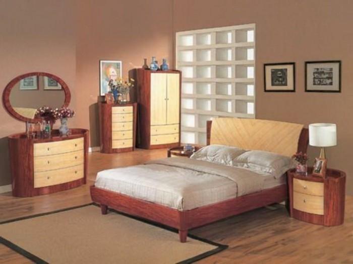 Wandgestaltung Schlafzimmer Farbe: Einrichten mit farben graue ...