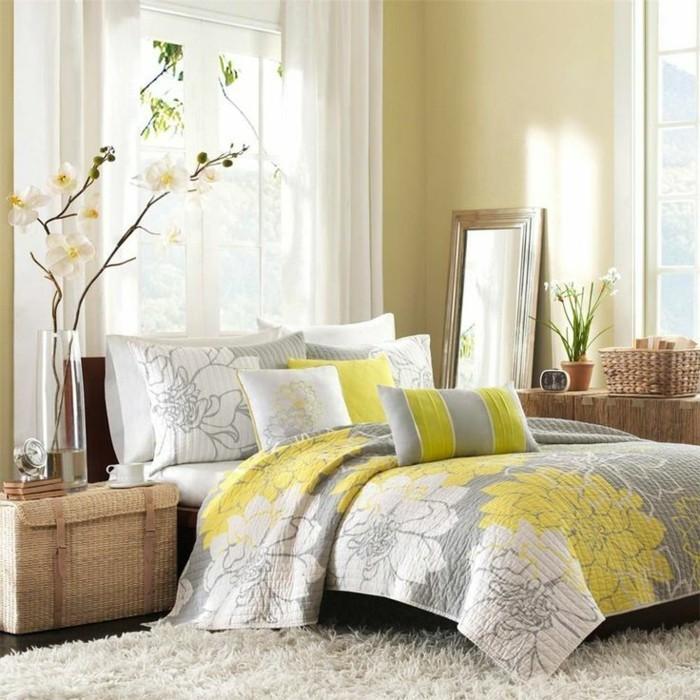 Schlafzimmer-Inspiration-eine-sonnige-Farbe