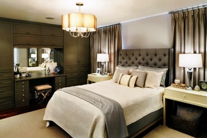 Schlafzimmer-Wandgestaltung-ganz-schick-und-gemütlich