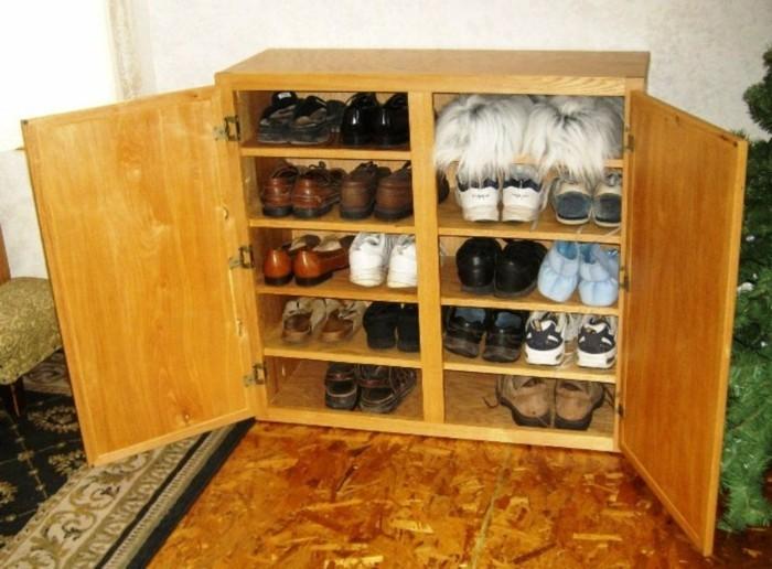 Schuhschrank-Design-für-große-Familie