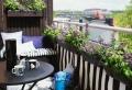 Sichtschutz für Terrasse und Balkon – draußen versteckt sitzen