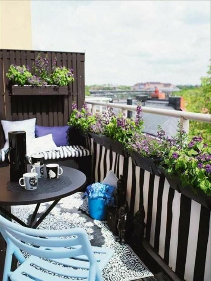 Sichtschutz für Terrasse und Balkon – draußen versteckt sitzen ...